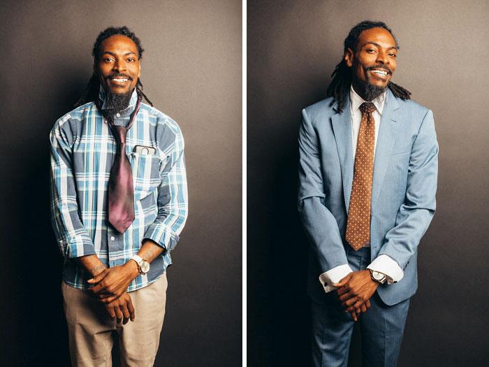 Второго шанса произвести первое впечатление не будет: стилисты показали, как меняется внешний вид мужчин с хорошими вещами