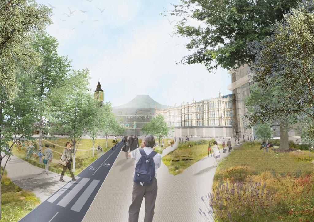 Демократия должна быть во всем: архитекторы предложили перестройку Вестминстерского дворца