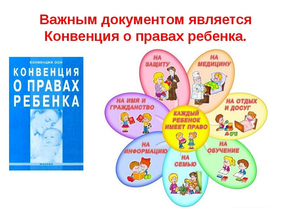 конвенция о правах ребенка самое главное