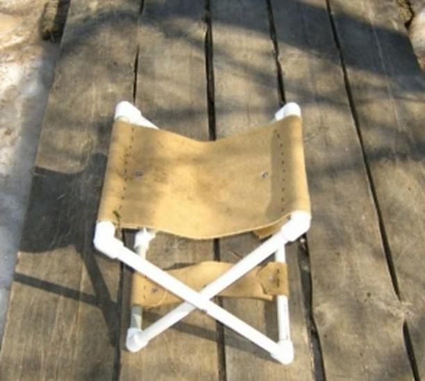 Складной стульчик своими руками для рыбалки