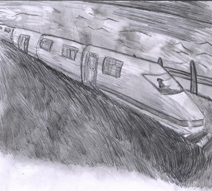 картинки как нарисовать поезда вариант