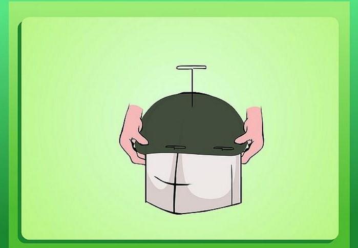Котелок шляпа своими руками из бумаги