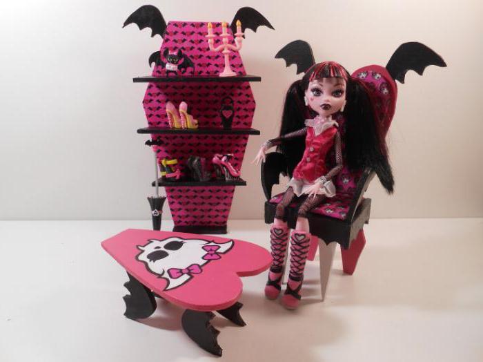 Диван для кукол монстер хай своими руками