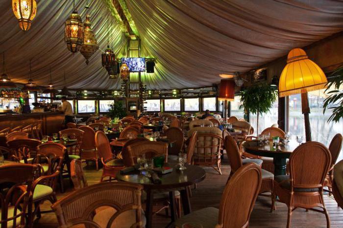 Шатер ресторан на Чистых прудах