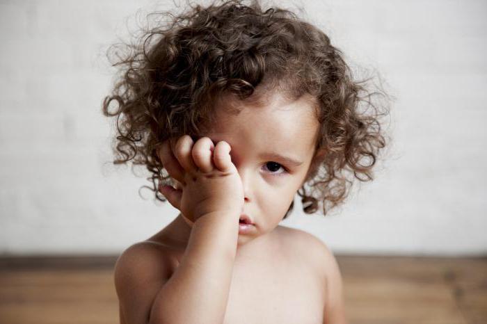закисают глаза у ребёнка 3 года