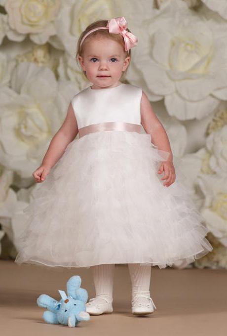 сшить платье девочке 1 год