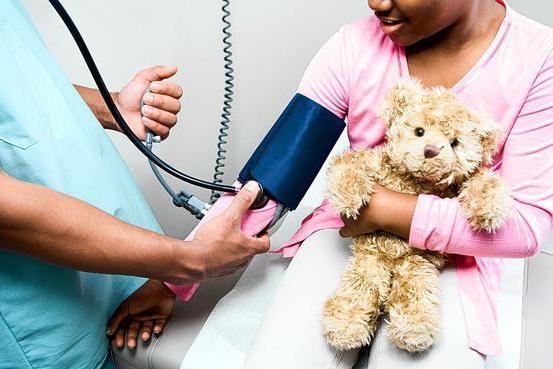 низкое давление у ребенка