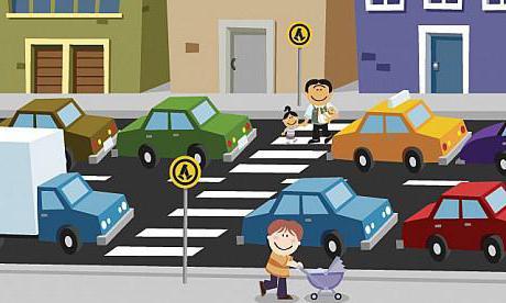 безопасность ребенка на дороге