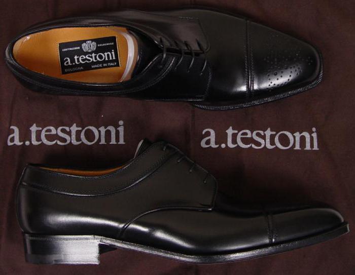 бренды мужской обуви список