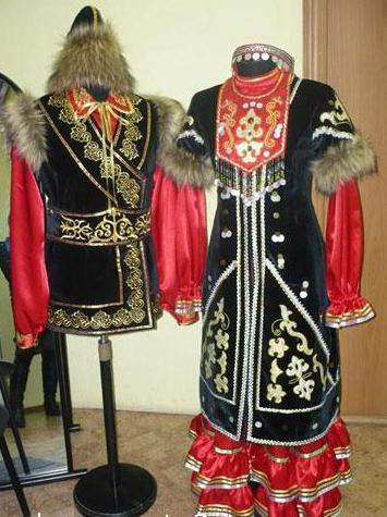 башкиры национальный костюм