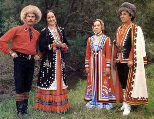 национальный костюм башкир