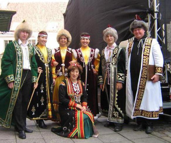 буряты и башкиры национальные костюмы