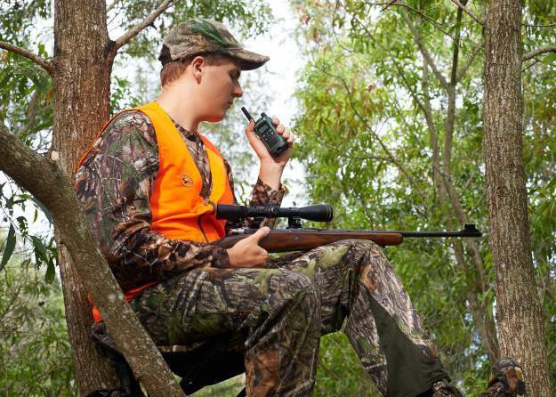 Рация для охоты в лесу