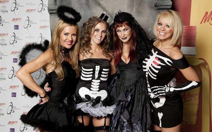 образ на хэллоуин для девушки