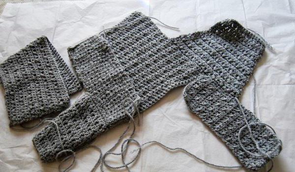 свитер для девочки спицами схема