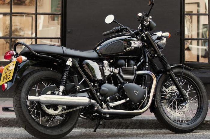 мотоцикл triumph bonneville t100