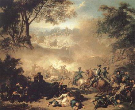 битва при деревне лесной