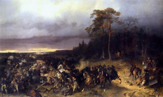 северная война битва при лесной