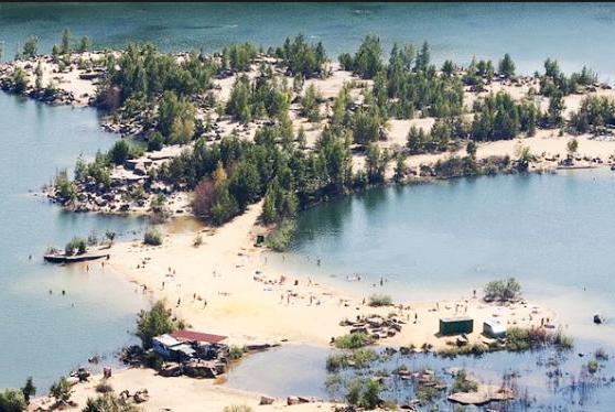 Дзержинский карьер пляж