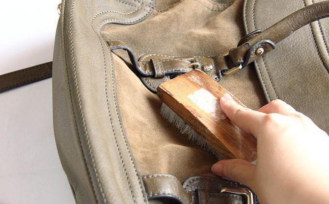 Чем отчистить светлую сумку