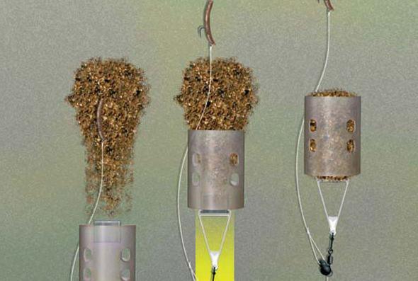 кормушка из пластиковой трубы для рыбалки
