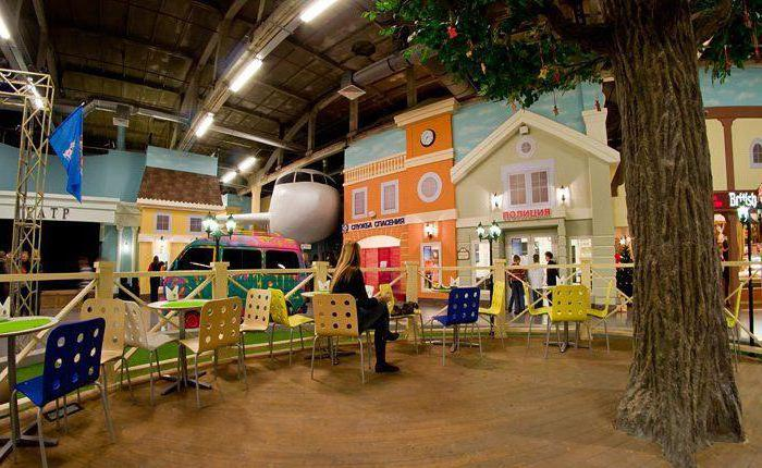 Детский развлекательный центр Кидбург в Санкт-Петербурге