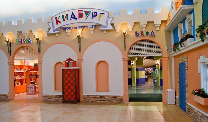 детский развлекательный центр кидбург в санкт петербурге