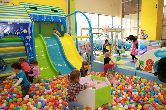 детские игровые комнаты санкт петербург