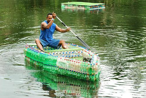 лодка из канистр сделать