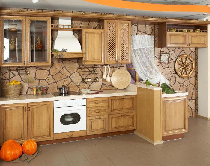 виды кухонь
