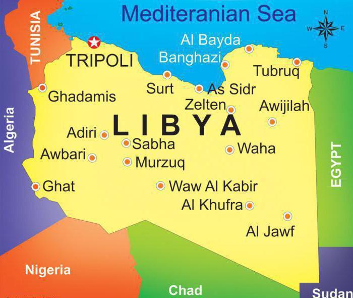государство ливия