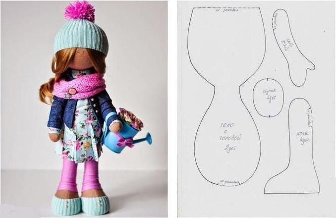 Как сделать обувь для куклы большеножки своими руками 38