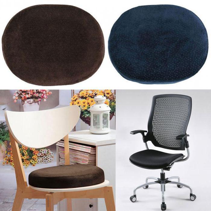 ортопедическая подушка для сидения на стул своими руками