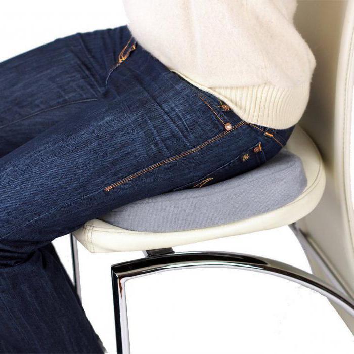 ортопедическая подушка для сидения на стул