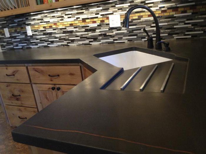 угловая раковина на кухне размеры