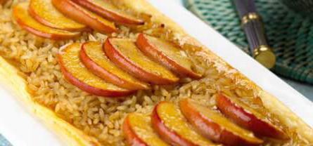 рис с яблоками рецепт