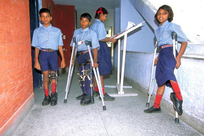 Признаки полиомиелита у детей. Фото