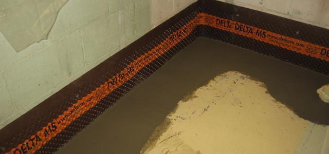 гидроизоляция деревянного пола в ванной под плитку