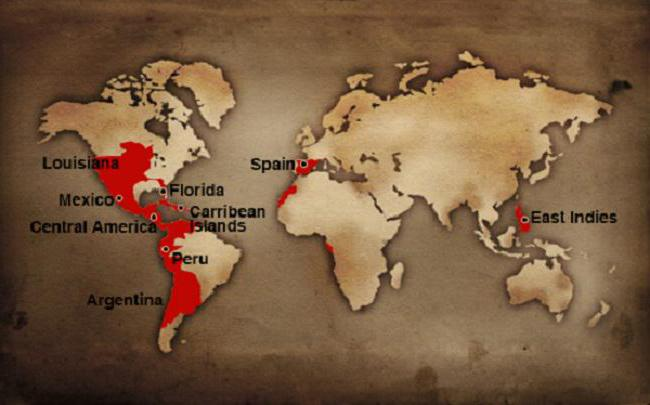 an overview of spains established america empire in 16th century The 16th century, particularly under  its empire in the americas produced  also established by the constitution is the function of defender of the people.