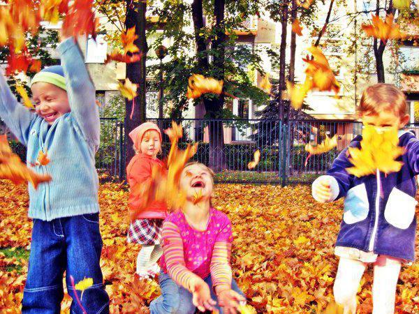 открытое занятие в средней группе по фгос на тему осень