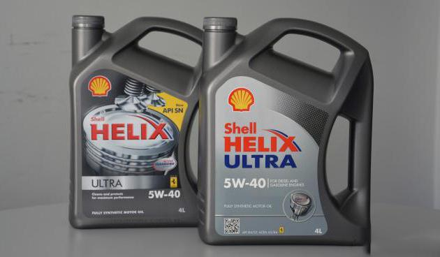 масло shell helix diesel ultra 5w 40
