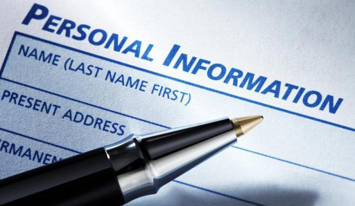 фз о персональных данных
