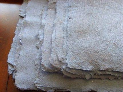 из чего можно сделать бумагу своими руками