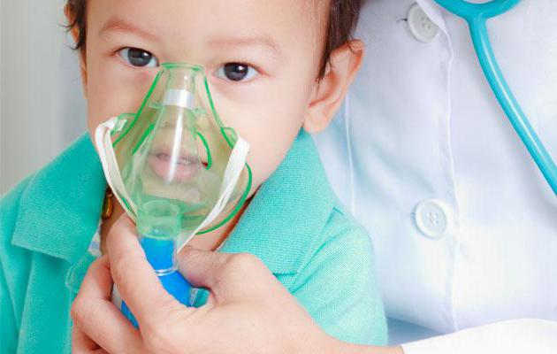 Ингаляции при насморке детям 2 года