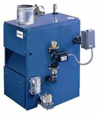 устройство и работа газового котла