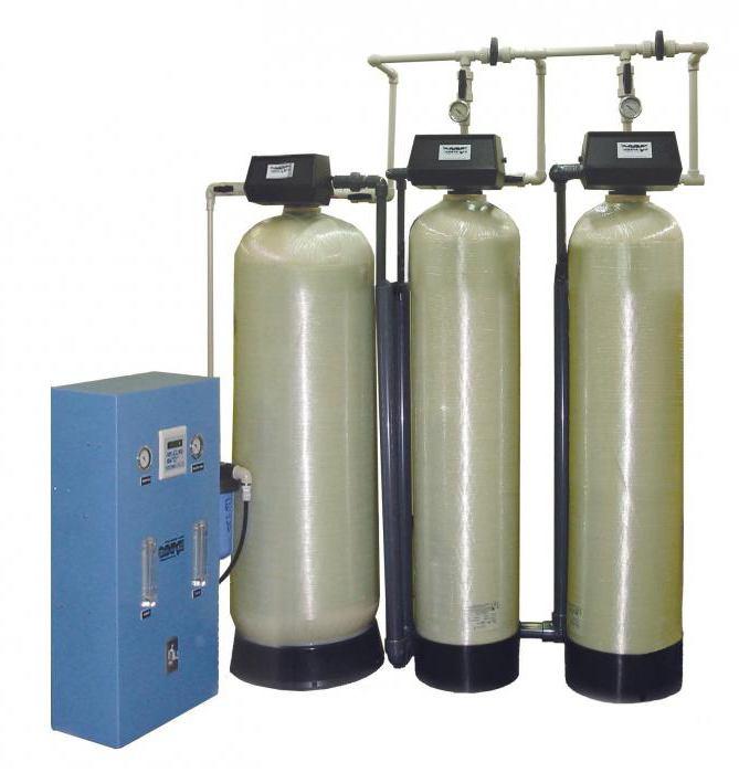 установка водяных фильтров