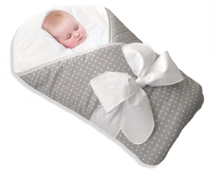 как завернуть ребенка в одеяло