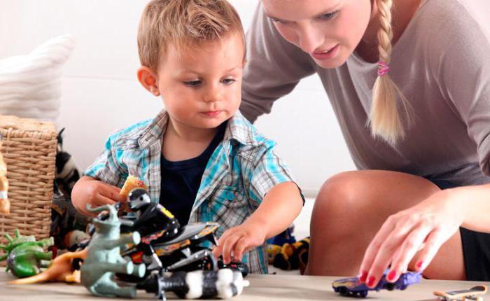 Чем заниматься с ребенком в год