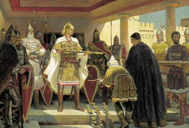 князь святослав храбрый