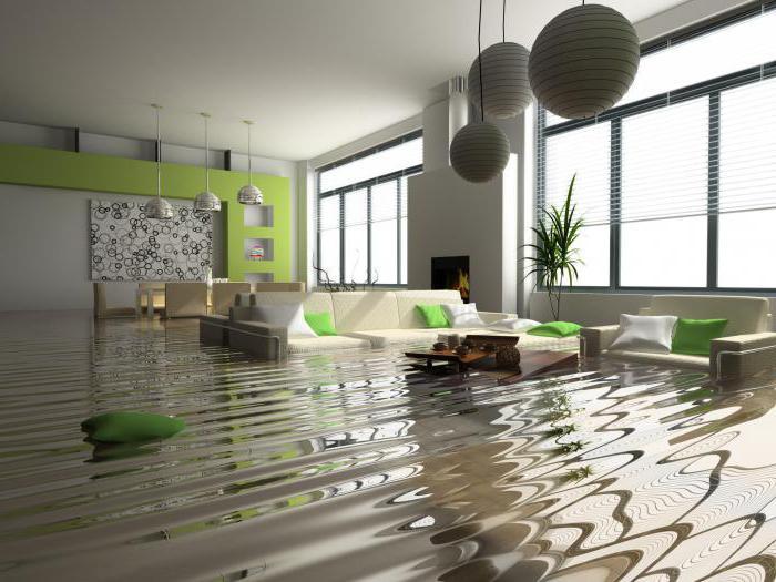 к чему снится потоп в чужой квартире